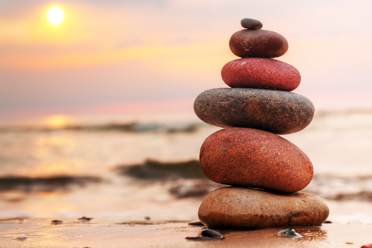 Balance und Durchhaltevermögen
